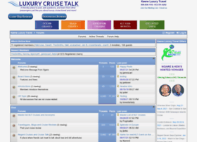 luxurycruisetalk.com