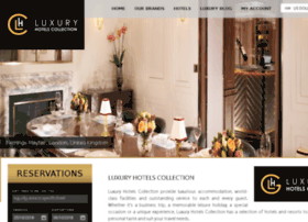 luxuryhotelscollection.com