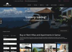luxurylivingsamui.com