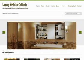 luxurymedicinecabinets.com