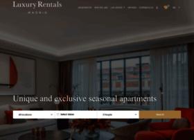 luxuryrentalsmadrid.com