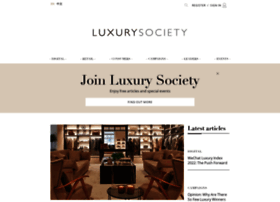 luxurysociety.com