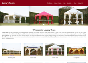 luxurytents.com
