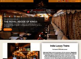 luxurytrainsindia.org