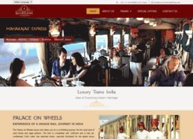 luxurytrainsofindia.com
