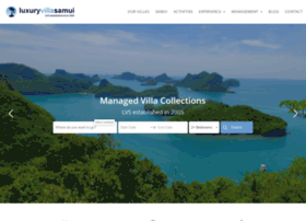 luxuryvillasamui.com