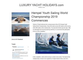 luxuryyachtholidays.com