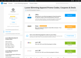 luxxeslimmingapparel.bluepromocode.com