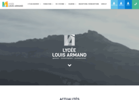 lycee-louis-armand.com