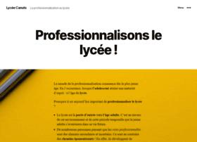 lyceelescanuts.fr