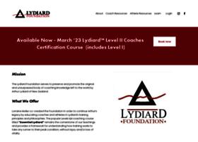 lydiardfoundation.org