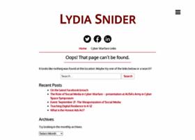 lydiasnider.com