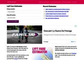 lyftrideestimate.com