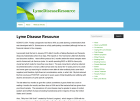 lymediseaseresource.com