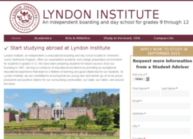 lyndon.studyinternational.com
