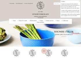 lyngbyporcelain.com