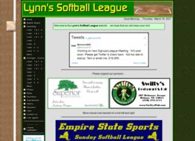 lynnssoftball.com