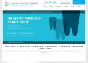 lynnwoodcrossroadsdentistry.com