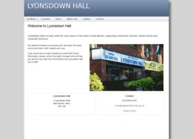 lyonsdownhall.org.uk