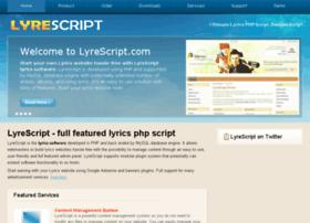 lyrescript.com