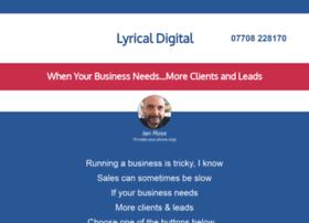 lyrical-digital.co.uk