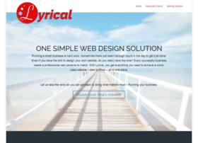 lyricalwebdesign.com
