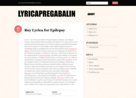 lyricapregabalin.wordpress.com