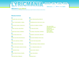 lyricmania.com