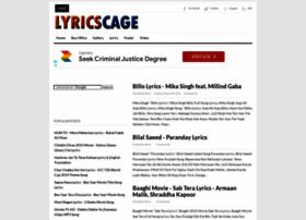 lyricscage.blogspot.com