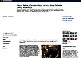 lyricschordsandtabs.blogspot.com