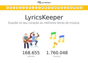 lyricskeeper.com.br