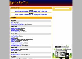 lyricskoto.com
