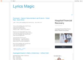 lyricsmagic.blogspot.com