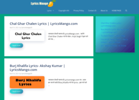 lyricsmango.com
