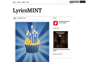 lyricsmint.tumblr.com