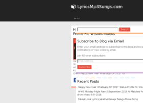 lyricsmp3songs.com