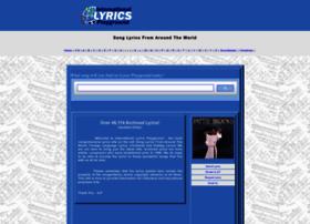 lyricsplayground.com