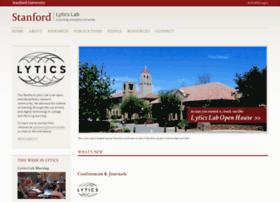 lytics.stanford.edu