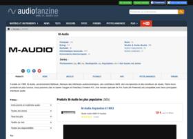 m-audio.audiofanzine.com