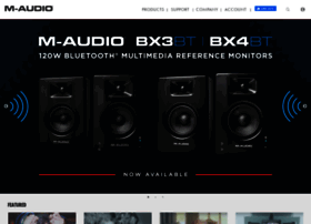 m-audio.com