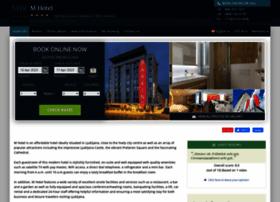 m-hotel-ljubljana.h-rsv.com