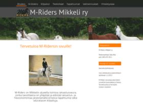 m-riders.fi