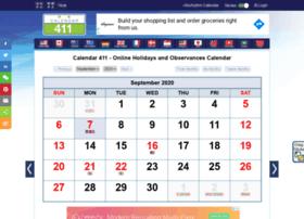 m.calendar411.com