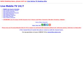 m.liveonlinetv247.info