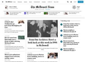 m.mcdowellnews.com