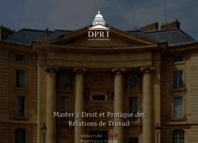 m2-dprt.u-paris2.fr