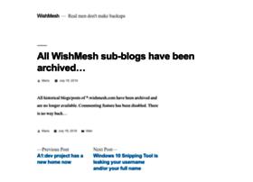 ma.wishmesh.com