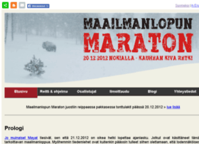 maailmanlopunmaraton.fi
