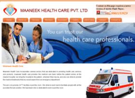 maaneekhealthcare.com
