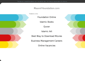 maaref-foundation.com